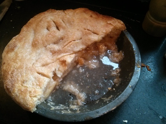 Pie for breakfast on Pi Day 2014